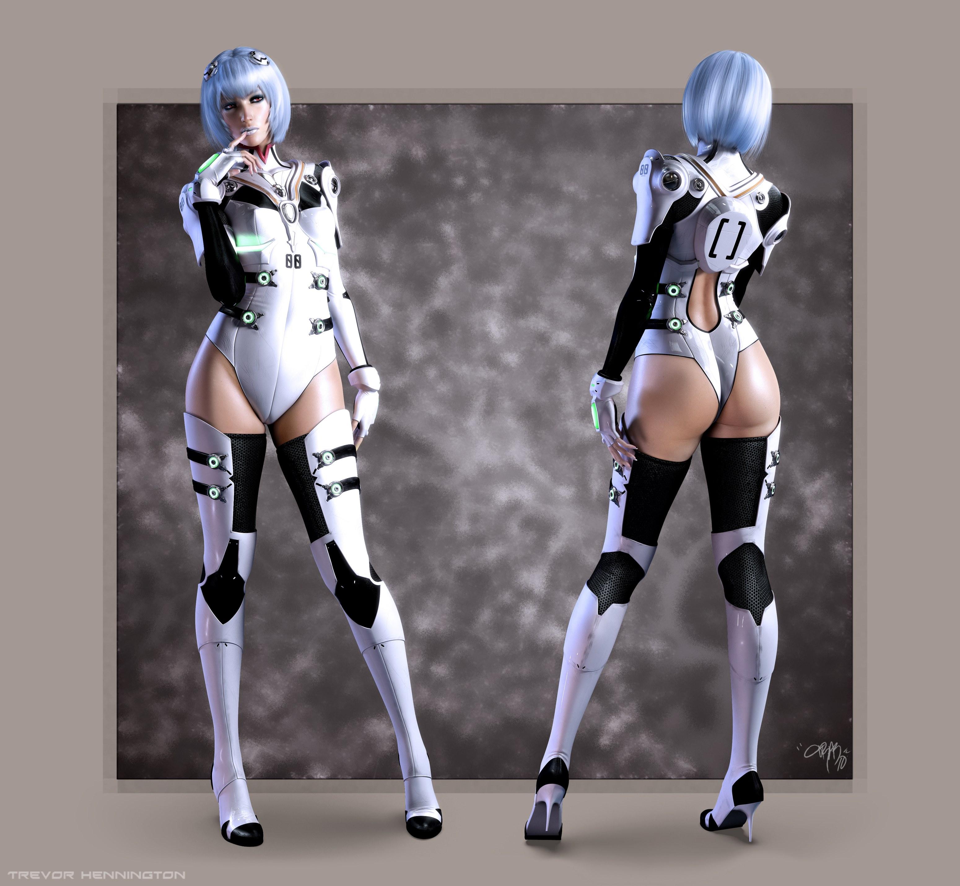 Секс робот в действии 11 фотография