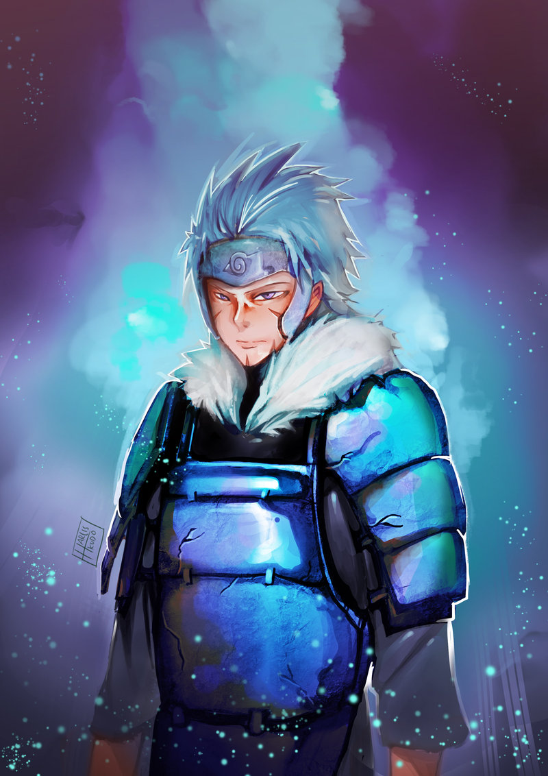 senju tobirama из Наруто by harliskudo