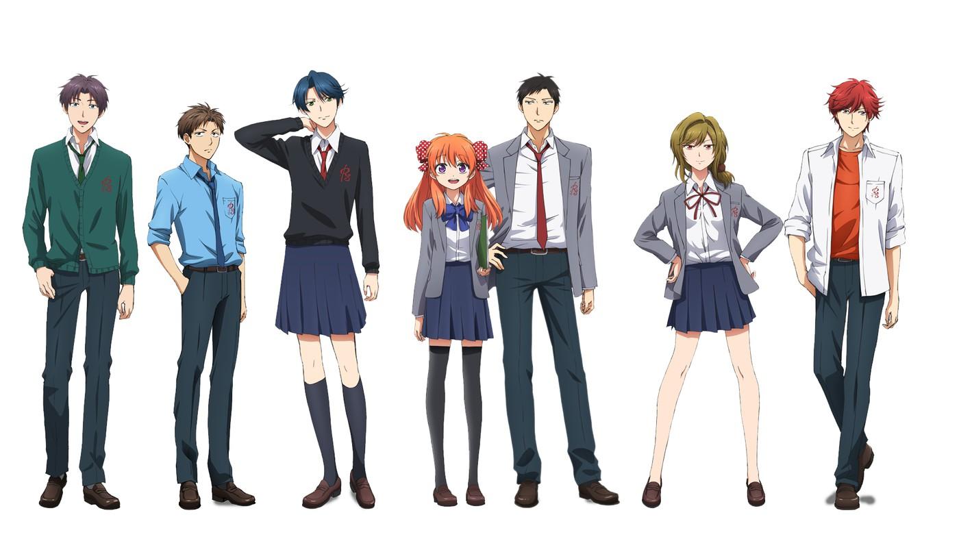 Ежемесячная манга седзе Нодзаки-куна / Gekkan Shoujo Nozaki-kun категория ~ аниме 2014 года
